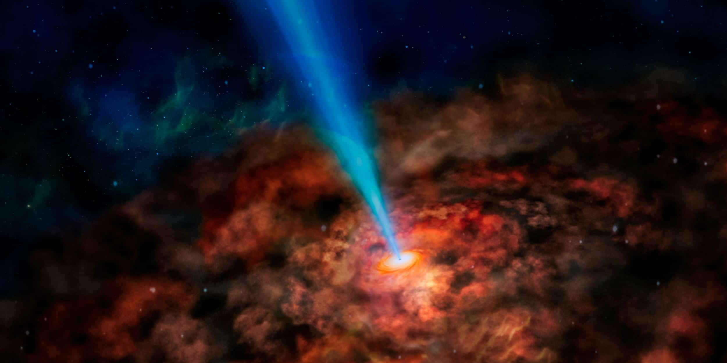Observing Beams from Black Holes