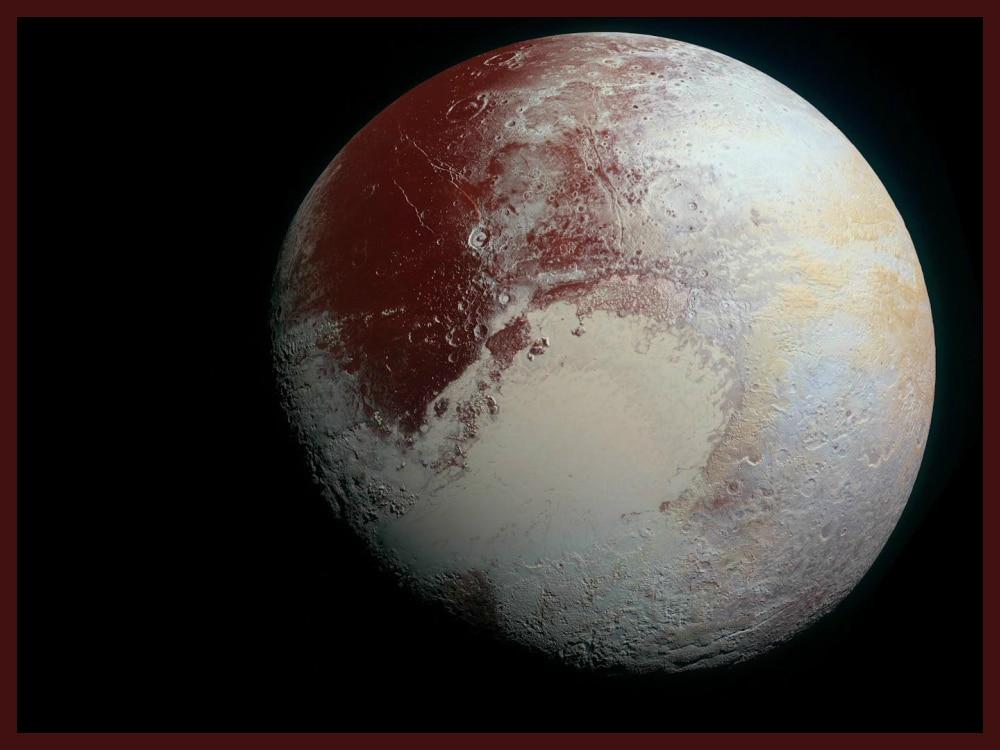 Pluto Nitrogen