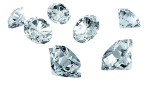 Earth is Compressing its Oceans into Salty Diamonds