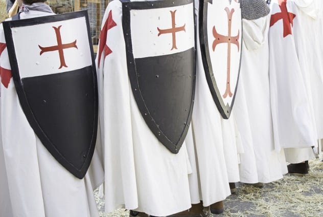 How the Templars Got Rich Fighting for God Before Losing it All