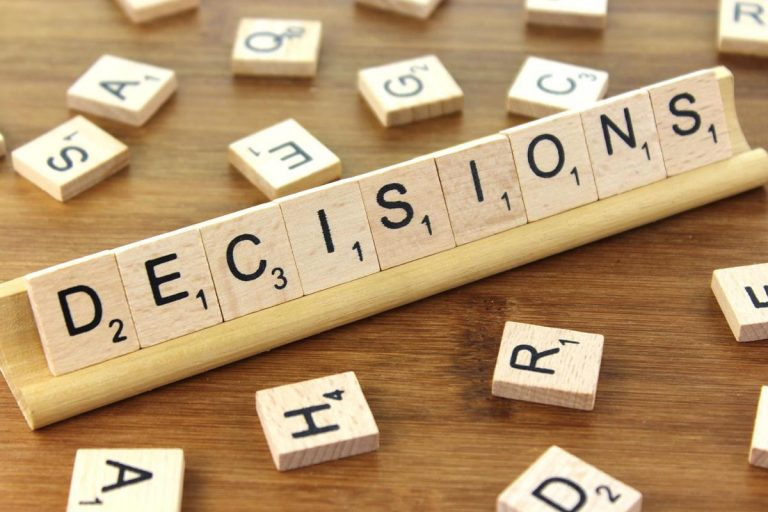 How to Make Better Decisions in Your Life