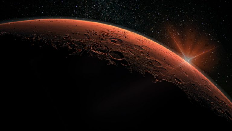 Life's Building Blocks Discovered on Mars