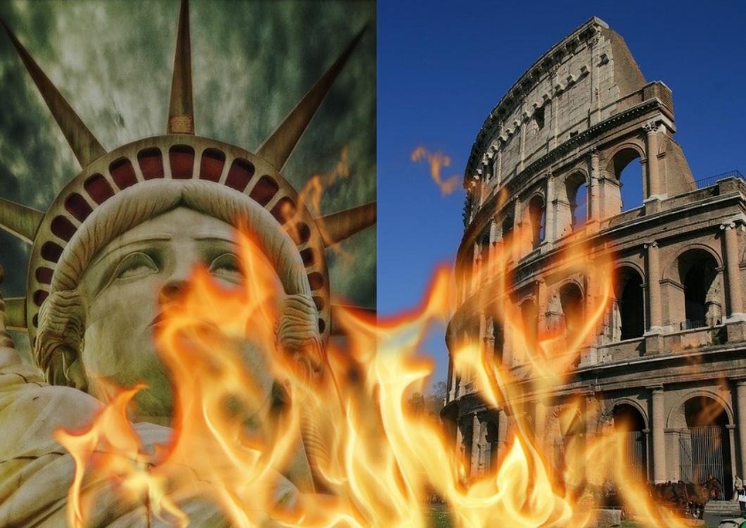 7 Revealing Ways America is Collapsing as Rome Did
