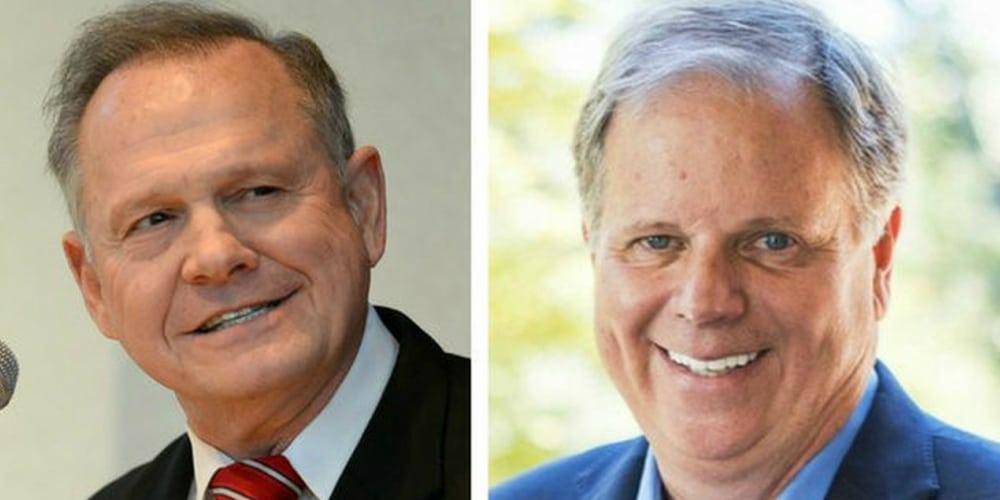 Doug Jones vs. Roy Moore