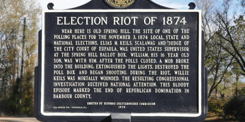 Election Riot Of 1874
