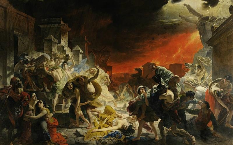 Eruption of MountVesuvius