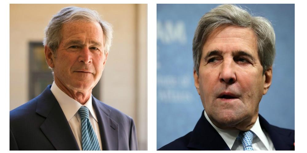 George W. Bush (R) vs John Kerry (D)