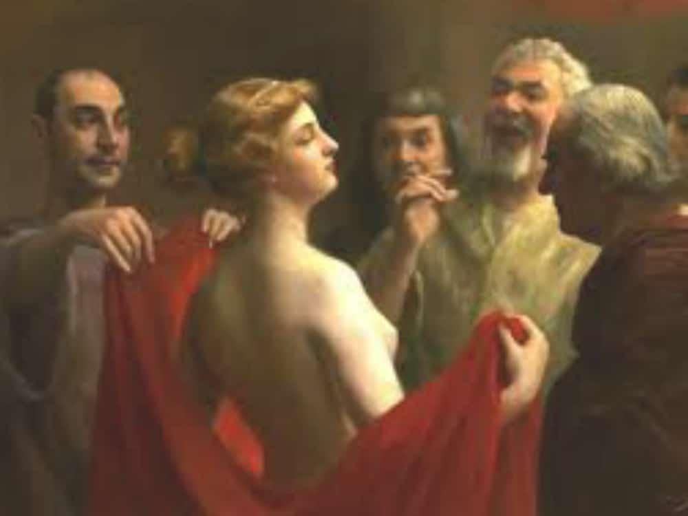 Prostitutes Were Required to Dye Their Hair Blonde