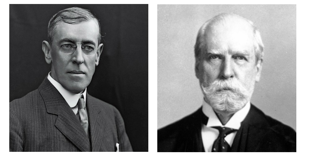 Woodrow Wilson (D) vs Charles Hughes (R)