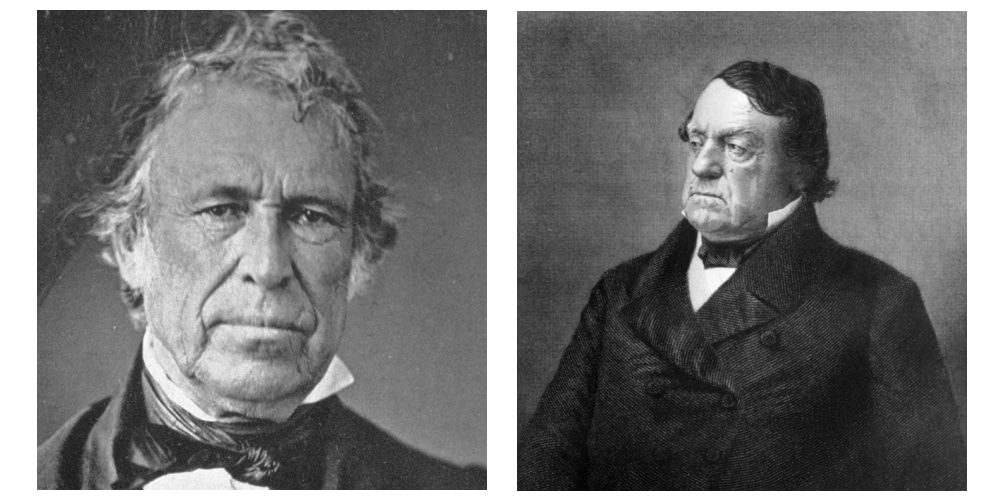 Zachary Taylor (Whig) vs Lewis Cass (D)