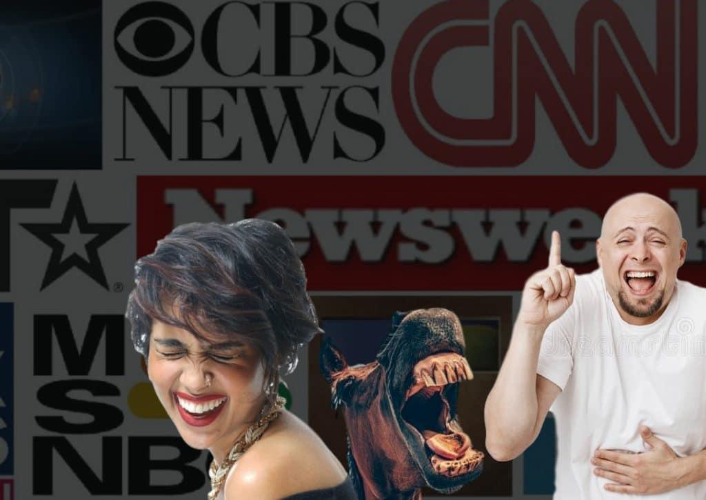 mainstream news media lost credibility
