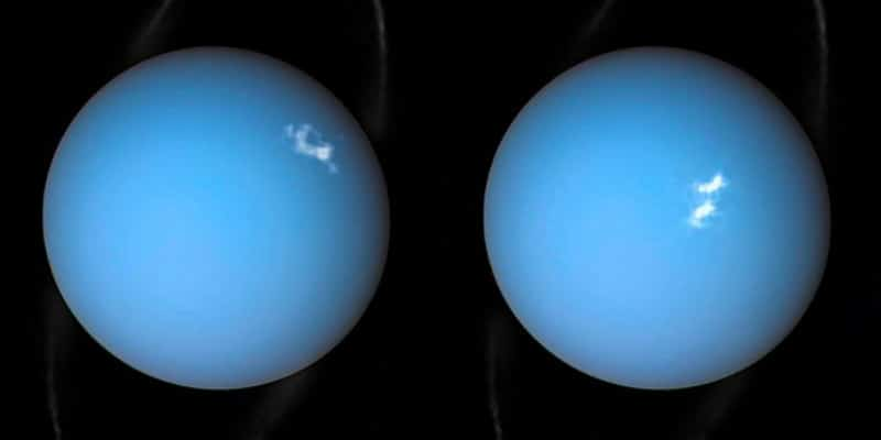 uranus is stormy