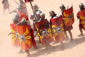 roman military budget